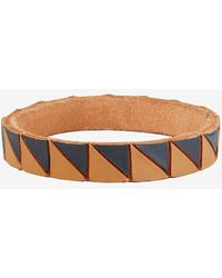 Lauren Manoogian - Shark Painted Leather Bangle - Lyst