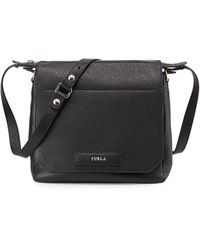 Furla Patty Leather Crossbody Bag - Lyst