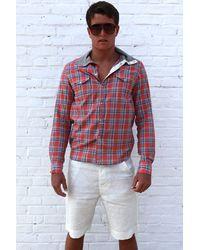 Yigal Azrouël Cotton Jersey Shirt In Paprika - Lyst