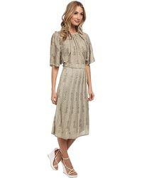 M Missoni Solid Lurex V-Back Dress - Lyst