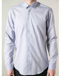 Mr Start - Fashion Collar Shirt - Lyst
