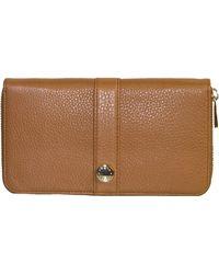 Furla   Zip Leather Wallet   Lyst