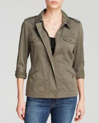 Two By Vince Camuto - Sateen Utility Jacket - Lyst