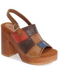 Jeffrey Campbell 'Buell' Platform Sandal - Lyst