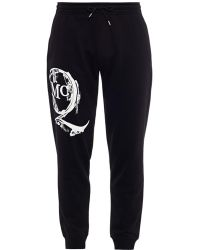 McQ by Alexander McQueen Logo-Printed Jersey Track Pants - Lyst