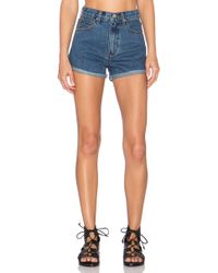 UNIF | Milo High Rise Short | Lyst