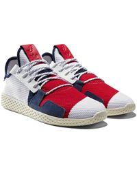 adidas Originals - Adidas X Bbc Tennis Hu - White scarlet yellow - Lyst cc0b58679a