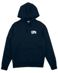 BBCICECREAM - Small Arch Logo Hoody - Navy - Lyst