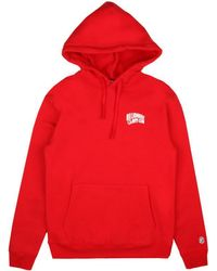 BBCICECREAM - Small Arch Logo Hoody - Red - Lyst