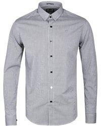 Weekend Offender - Monochrome Check Rickman Shirt - Lyst
