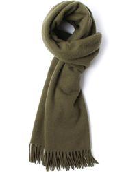 Gant Rugger - Dark Cactus Large Woollen Scarf - Lyst