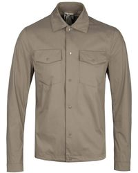 C P Company - Campus Stone Overshirt - Lyst