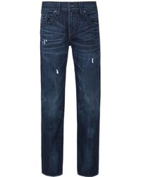True Religion | Geno Indigo Washed Slim Fit Jeans | Lyst