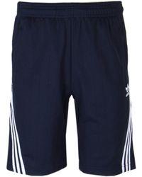 adidas Originals - Navy Wrap Short - Lyst