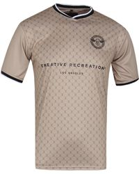 Creative Recreation - Champagne House Pattern Soccer Shirt - Lyst