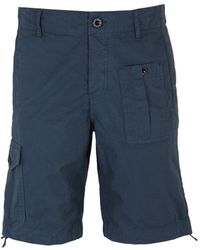 Pretty Green - Blue Rockwood Cargo Shorts - Lyst