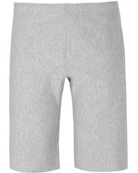 Champion - Grey Marl Jersey Shorts - Lyst