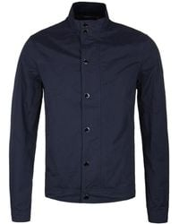 Henri Lloyd | Navy Jurston Wax Short Harrington Jacket | Lyst