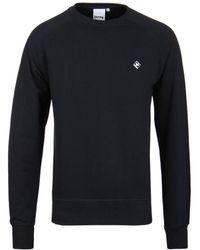 Money - Navy Diamond Crew Neck Sweatshirt - Lyst