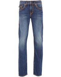 True Religion | Geno Lake View Slim Fit Super T Denim Jeans | Lyst