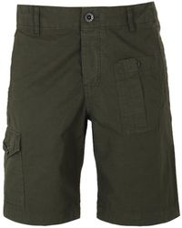 Pretty Green - Khaki Rockwood Cargo Shorts - Lyst
