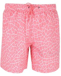 Boardies - Cracked Pink Swim Shorts - Lyst