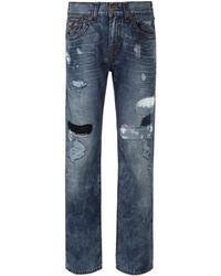 True Religion - Ejpm Ricky Flap Super T Jeans - Lyst