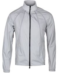 Christopher Raeburn - Grey Recycled Lightweight Waterproof Jacket - Lyst