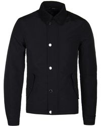 Henri Lloyd Black Cord Collar Holcombe Archive Jacket