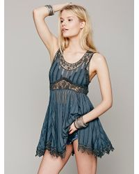 Free People Sleepless Nights Tunic - Lyst