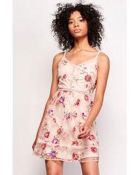 BB Dakota | Gemma Embroidered Dress | Lyst