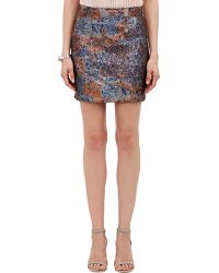 Alexander Lewis - Mona Mini Skirt - Lyst