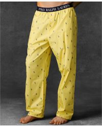 Ralph Lauren Polo Mens Polo Player Pajama Pants - Lyst