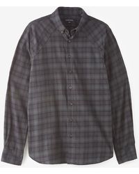Wings + Horns Overdyed Flannel Shirt - Lyst