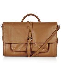 Topshop Premium Leather Silverlake Satchel - Lyst