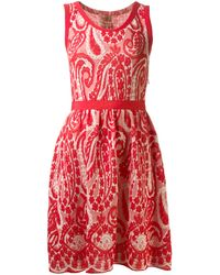 Giambattista Valli Paisley Knit Dress - Lyst