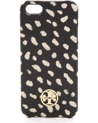 Tory Burch Kerrington Iphone 5 5s Case Dotted Pony - Lyst