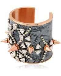 Bijoux De Famille - Punk Opera Cuff Bracelet - Lyst