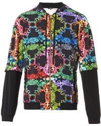 Versus  Baroqueprint Hooded Sweatshirt - Lyst