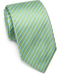 Charvet Striped Silk Tie - Lyst