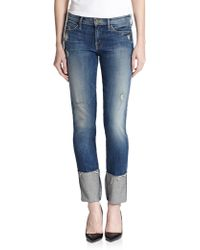 Mother Pony Boy Distressed Jeans - Lyst