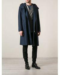 Giorgio Armani Lamb Fur Trimmed Jacket - Lyst