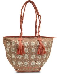 Antik Batik Elise Zip Tote - Lyst
