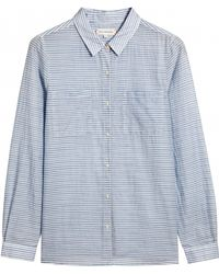 Chinti & Parker Pocket Shirt Blue - Lyst