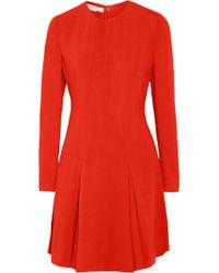 Stella McCartney Claude Stretchcady Mini Dress - Lyst