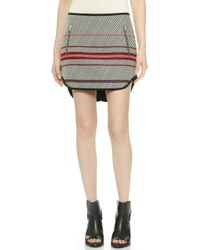 Rag & Bone White Bess Skirt  - Lyst