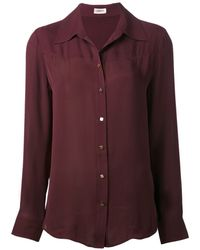 L'Agence Western Blouse - Lyst