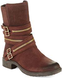 Vince Camuto Tavi Zipper Boots - Lyst