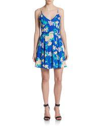 Yumi Kim Sunset Floral-Print Dress - Lyst