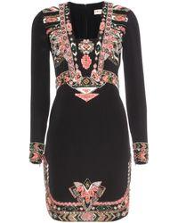 Emilio Pucci Embellished Silk Dress - Lyst